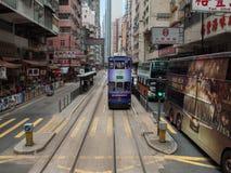 Tranvías Imagen de archivo libre de regalías