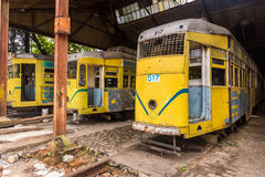 Tranvías de Kolkata Imagen de archivo libre de regalías