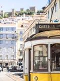 Tranvías de Lisboa Fotografía de archivo