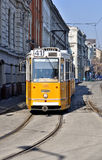 Tranvías en Budapest Fotos de archivo