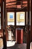 Tranvías viejas del vintage en Lisboa Imagenes de archivo