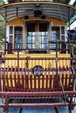 Tranvías viejas del vintage en Lisboa Fotografía de archivo libre de regalías