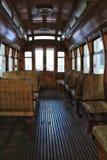 Tranvías viejas del vintage en Lisboa Imagen de archivo