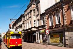 Tranvía de Grudziadz Imagen de archivo