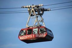 Tranvía de la isla de Roosevelt Imagen de archivo libre de regalías