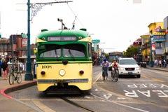 Tranvía de San Francisco Imagen de archivo