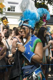 Tranvestite al carnevale di Notting Hill Fotografie Stock Libere da Diritti