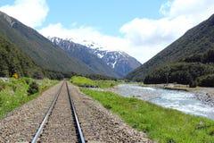 Tranzalpine, Nueva Zelandia Fotos de archivo