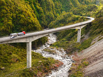 TranzAlpine Route, New Zealand Royalty Free Stock Images