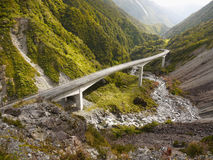 TranzAlpine Route, New Zealand Royalty Free Stock Photography