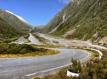 TranzAlpine Route, New Zealand Stock Image