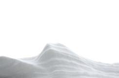 Tração da neve Fotografia de Stock Royalty Free