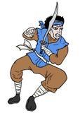 Tração do samurai Imagens de Stock