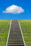 Trap aan de hemel Stock Foto's