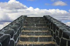 Trap aan Hemel Stock Fotografie
