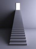 Trap aan het Licht Stock Afbeelding