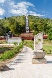 Trap aan het Loma de la Cruz-gezichtspunt in Holguin, Cu royalty-vrije stock afbeeldingen