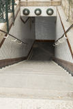 Trap aan Metro Metro, Parijs, Frankrijk Royalty-vrije Stock Foto's