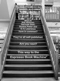 Trap in de Stad van Powell van Boeken, beroemde boekhandel Оregon royalty-vrije stock afbeeldingen