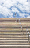 Trap die aan de hemel, zaken in succes leidt Stock Fotografie