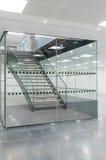 Trap in glasverdeling Stock Afbeeldingen