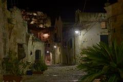 Trap in Matera Royalty-vrije Stock Fotografie