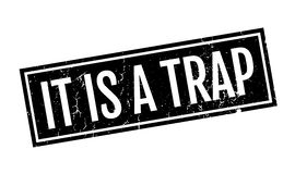 It Is A Trap rubber stamp Royalty Free Stock Photos