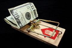 The Trap is Set Royalty Free Stock Photography