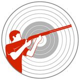 Trap shooting-1 Stock Photo
