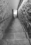 Trap in tunnel stock foto's