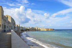 Trapan, Sicilië Royalty-vrije Stock Afbeelding
