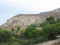 Trapan, Sicilië Stock Foto