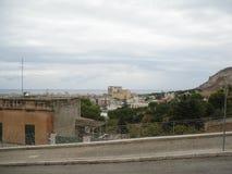 Trapan, Sicilië Stock Afbeeldingen