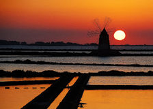Сицилия trapani Стоковое Фото