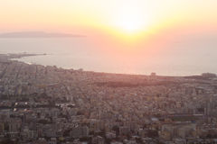 Trapani from above Stock Photo