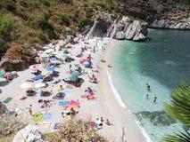 Trapani - Cala Tonnarella photos stock