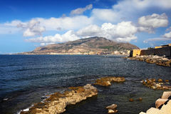 Trapani city Royalty Free Stock Photo