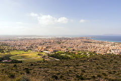 Trapani city view Royalty Free Stock Photos