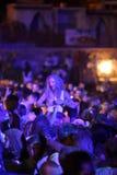Trapani, Cornino - 07/27/2017: Lato festiwale i plenerowi koncerty zdjęcie stock
