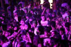 Trapani, Cornino - 07/27/2017: Lato festiwale i plenerowi koncerty zdjęcie royalty free