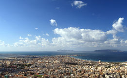 Trapani - Egadi islands Royalty Free Stock Photos