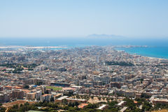 Trapani. Favignana island. Royalty Free Stock Photo