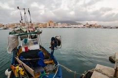 Trapani, isola della Sicilia, Italia Fotografie Stock