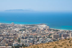 Trapani. Levanzo and Marettimo islands. Stock Images