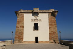 Trapani Ligny's tower Stock Images