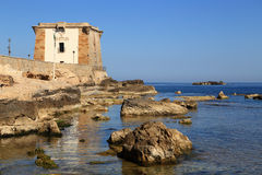 Trapani Ligny's tower Royalty Free Stock Image
