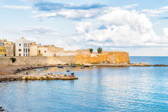 Trapani old town in Sicily, Italy. Royalty Free Stock Photo