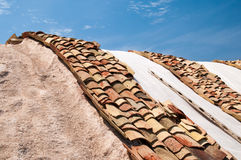 Trapani saltworks Stock Image