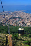 Trapani seen from Erice Stock Photography