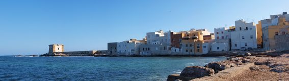 Trapani, Sicily, Italy Stock Images